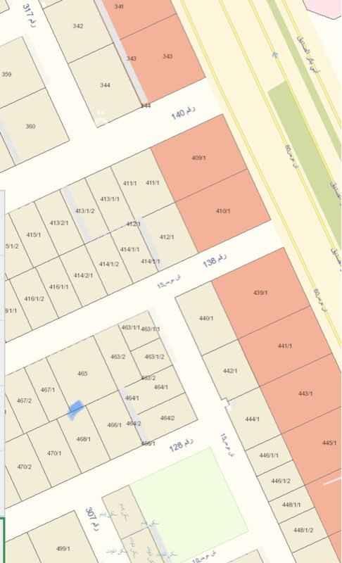 1757614 قطعة ارض في مربع 25 12*30  السعر على شور مربعها رائد