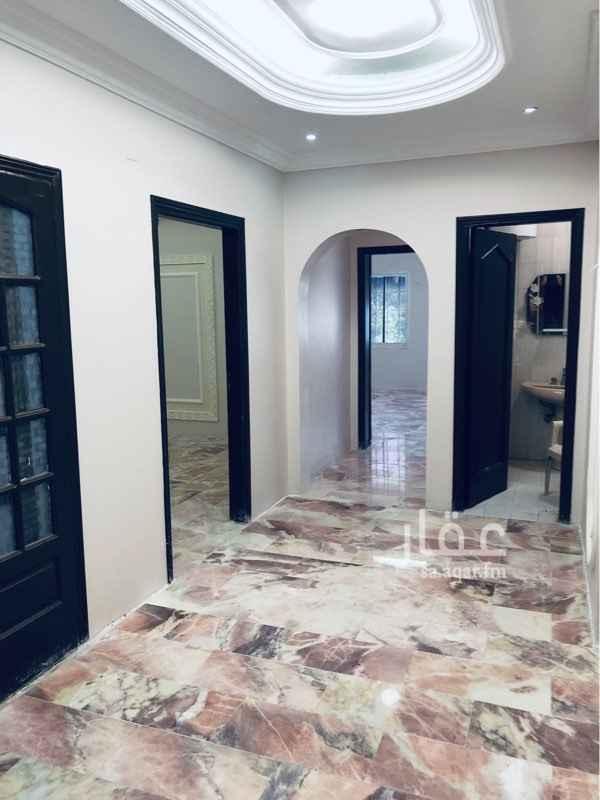 1532933 شقة الدور الاول لايجار العوايل فقط خمسة غرف منها غرفة كبيرة  ٣ دورات مياه صالتين