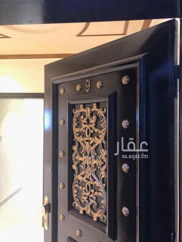1457959 شقة للايجار في عماره ٤ على شارع الصحراء المغربيه  تتكون من غرفتين نوم مجلس صاله مكيفات ومطبخ راكبه  للمعاينه مع الحارس ( 0598130285 )