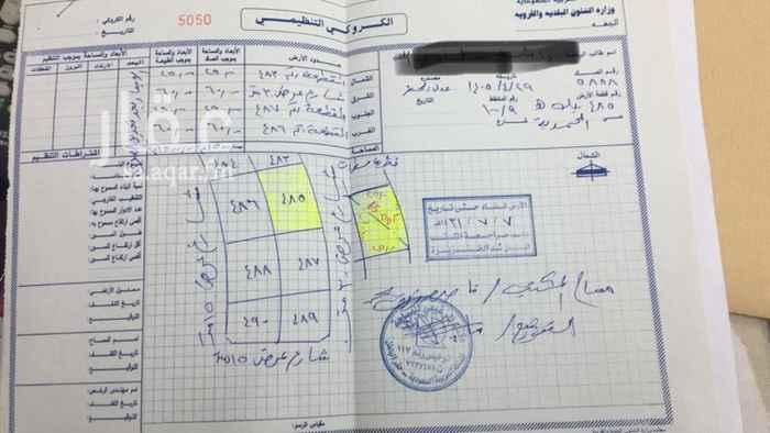 1258320 ارض للبيع مساحتها 500م في الصك والتقرير المساحي1500م والبيع قابل المفاوضه