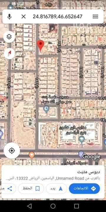 1689157 للبيع قطعة ارض سكني في مربع ١٦ الذهبي   مساحة ٥٠٠م   شارع ١٢جنوبي و١٥غربي   الاطوال ٢٥×٢٠  البيع ٢٥٠٠ ع شور