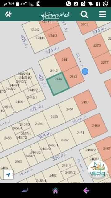 1551715 قطعه ارض تجاريه بحى الامانه قريبه من عبدالعزيز زاويه جنوبى ١٥ غربى ٣٠ ٦٢٥ متر الاطوال ٢٥×٢٥ سوم ١٨٠٠