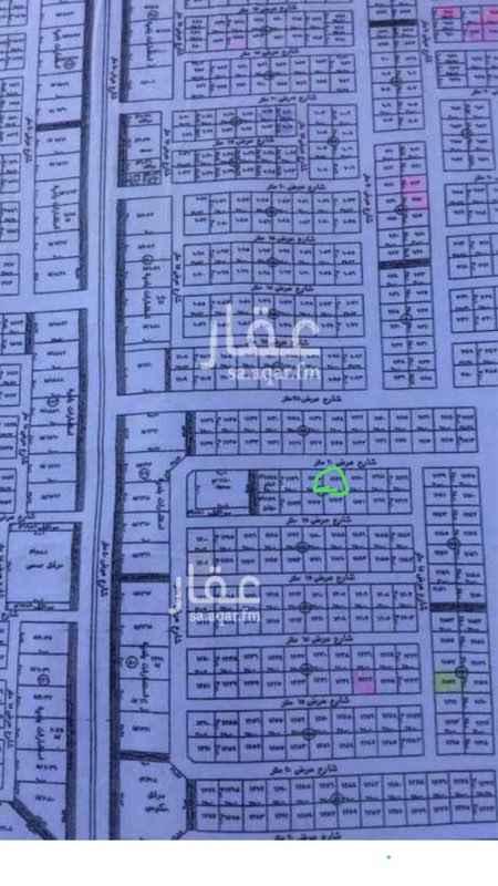 1763337 ارض للبيع رقم ١١٧٢ مخطط٤٠ المساحة ٧٥٠ شمالية  السوم ٢٠٠٠٠٠