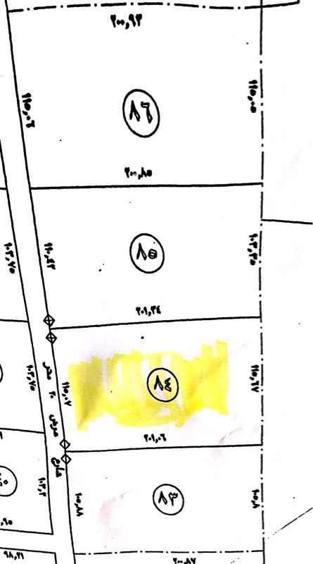 1702631 أرض زراعية مميزة تقع على شارعين 30 جنوبي و20 شمالي بمساحة 23059 م قطعة رقم 84 وللوصول اليها تفرق مع مخرج 9 وتتجهة للغرب والسعرقابل للتفاوض