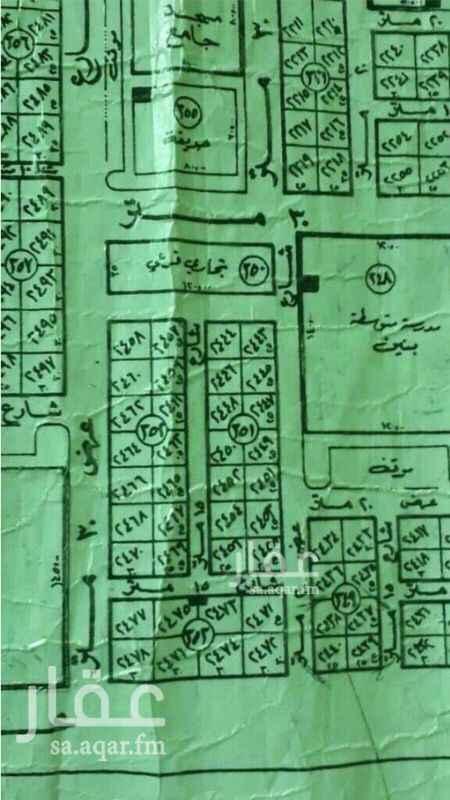 1789708 للبيع شريط سكنى  حى القيروان مخطط بدر أ مجزاء  مساحات 312.5م  الاطوال 12.5 ×  25 شارع 15م شرقى  بيع 2400