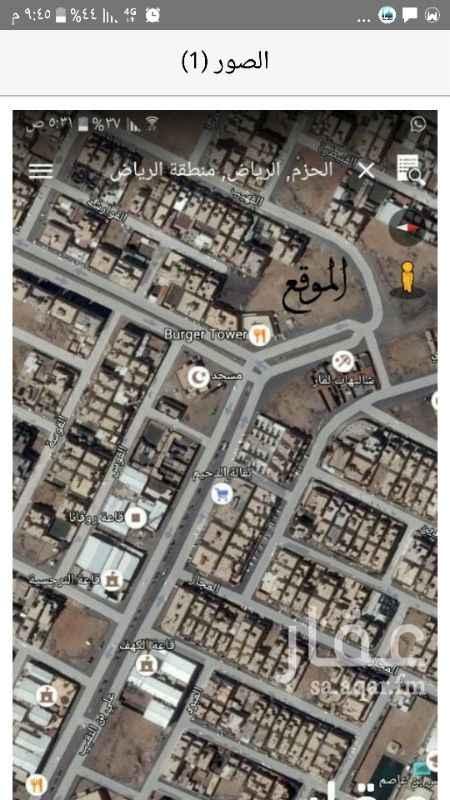 1028322 تقع على ٣ شوارع بالحزم وتصلح لعدت استثمارات علما السعر قابل  للتفاوض