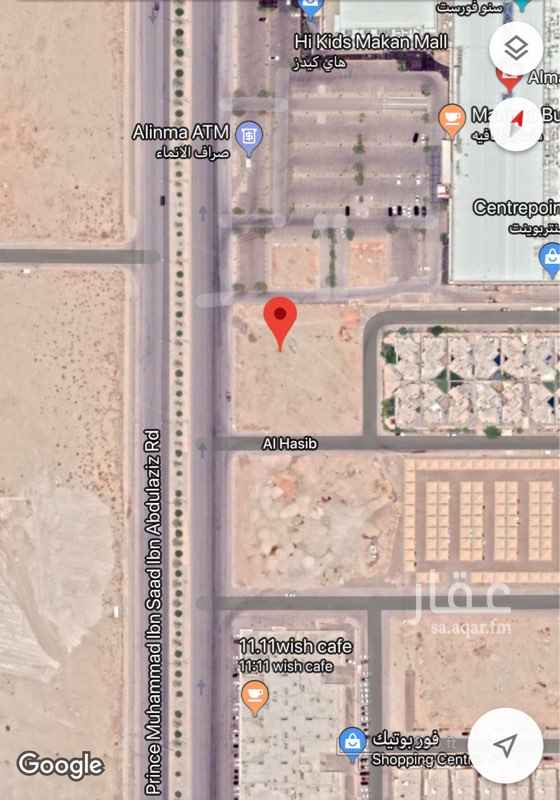 1796125 بلك سكني على طريق الامير محمد بن سعد بن عبدالعزيز (الخير) حي الملقا ، على شوارع ١٥ ما عدا الخير ٦٠. الاطوال ٥٠ في عمق ٦٣.  رقم القطعة ٦ من مخطط ٣٣٦٠