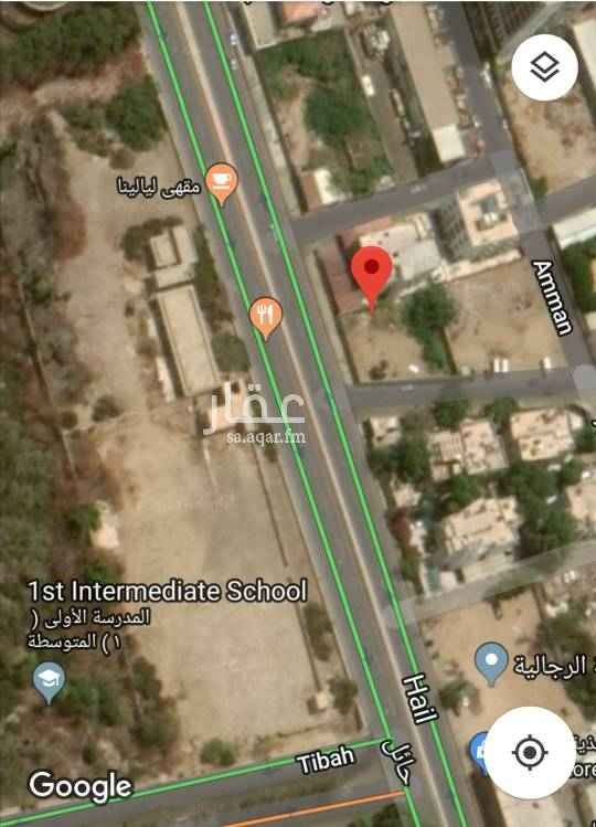 1692118 تقع الارض على شارع حائل بحي البغداديه في جدة، تصلح للاستثمار التجاري