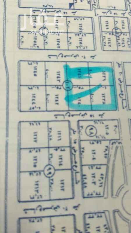 1146190 للبيع أرض رأس بلك  في الملقا  ثلاث شوارع ٢٠متر شمالي ٢٠شرقي ١٥غربي  أطوال ٨٠متر ×٧٥عمق  البيع ٢٣٠٠علي شور غير الضريبه