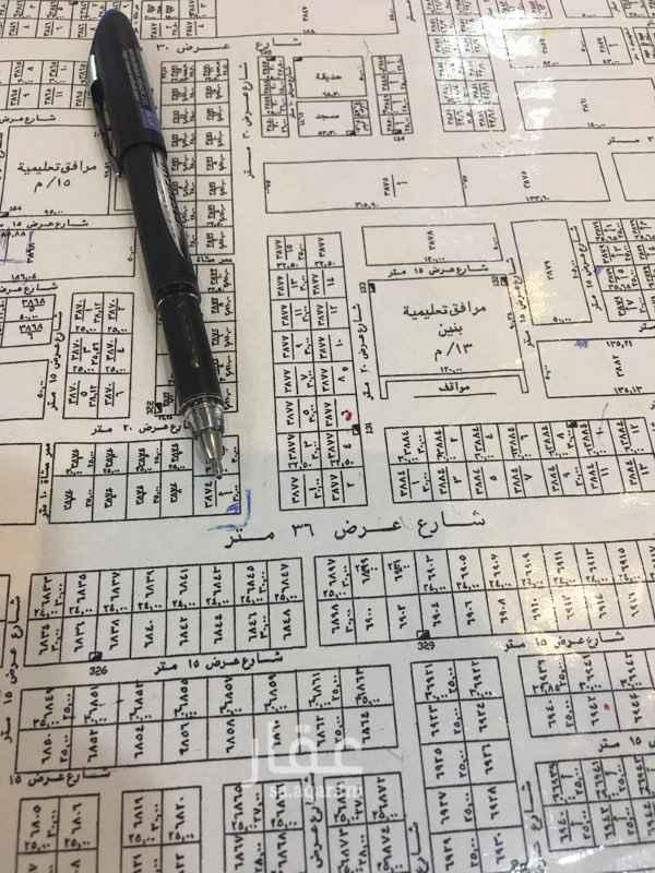 1642034 للبيع ارض تجارية زاوية حي النرجس الكيلو الرابع الغربي  المساحة : 1050 سوم : 2150 الاطوال : 35 * 30 الواجهه : جنوبي غربي الشارع : 36 في 30