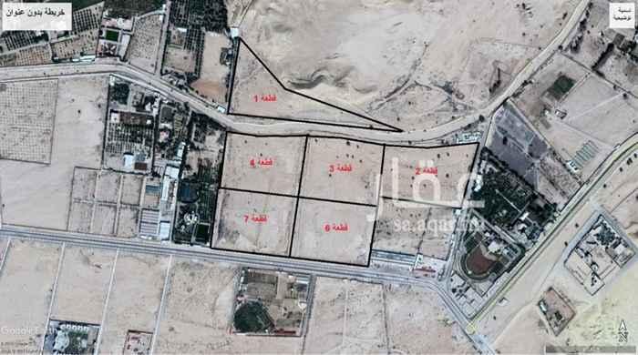 1647119 اراضي زراعيه في العمارية يوجد 6 اراضي على السوم