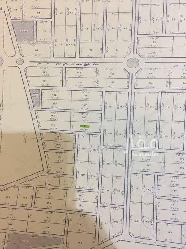 647119 للبيع بلك بحي تلال بنبان مخطط استراحات على شارعين شمالي وشرقي عرضها 15 قطعة رقم 156  السعر  260 على شور  مربعات الرياض العقارية