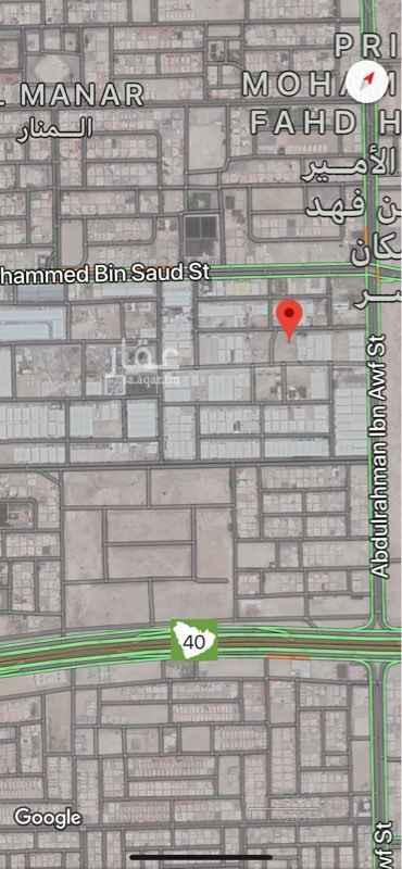 1200200 أرض فضاء  العرض على الشارع 20 متر المساحة 1,000م٢