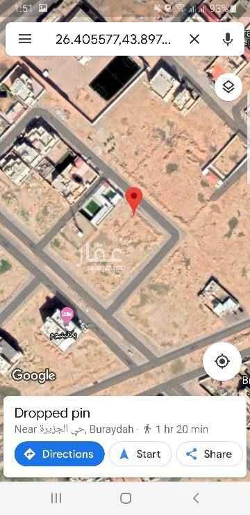1589787 قطعة رقم ٣٧٦ في حي الصديق المساحة ٨٠٥ متر مربع شارع ١٥ شرقي