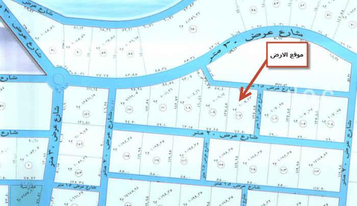 1540283 ارض زراعية في العمارية على ثلاث شوارع شمالي15 و جنوبي20 و شرقي 15