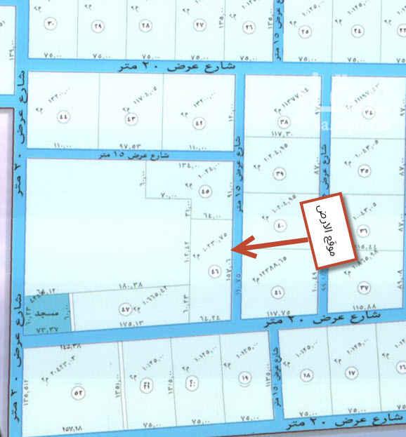 1541713 ارض زراعية في العمارية جنوبي 20 وشرقي 15