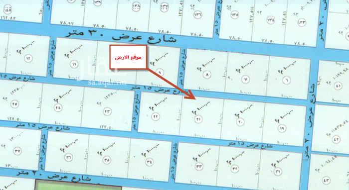1541719 ارض زراعية في العمارية شارعين متظاهرين شمالي 15 و جنوبي 15