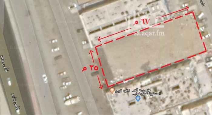 1650995 ارض تجاريه (تصريح 6 ادوار )..  على شارع الامير ماجد بالقرب من كوبري المطار الجديد..  مساحه الارض 1675 م.. عرض 25م * عمق 67م ..  قطعه رقم 383