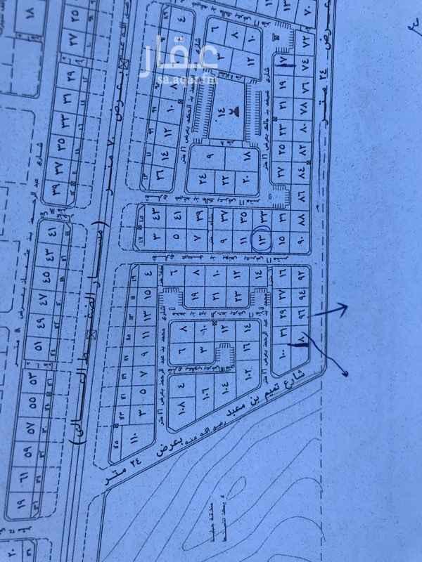 1301078 للبيع ارض سكنية في مخطط مدينة السلام الاولي المساحة ٥٣٢ الاضلاع  (  ٢٣ *   ٢٣.١٥ ) الارض فيها نزول الشارع   ٢٤ م جنوبي المطلوب  ٣٠٠ الف رقم  الارض  ٩٤   ( السعي في الذمة  )