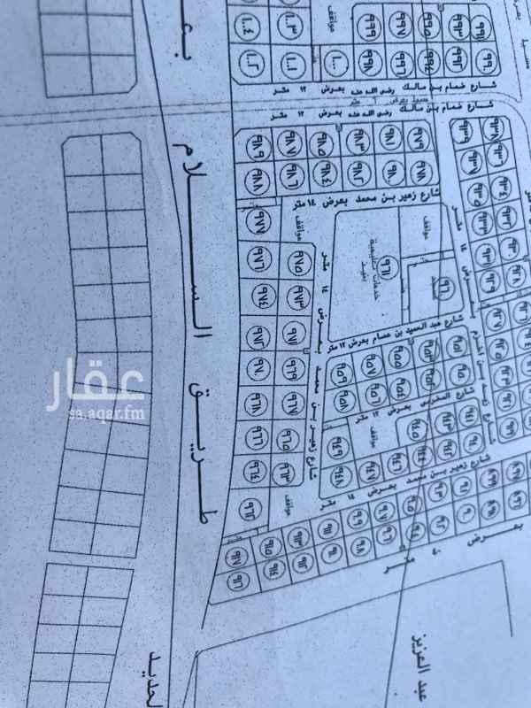 1462222 للبيع ارض تجارية علي شارع السلام الطالع بعد مطعم البيك  المساحة   ٨٢٩ م٢ طول الضلع علي الشارع     ٢٧ م ( السعي في الذمة  )
