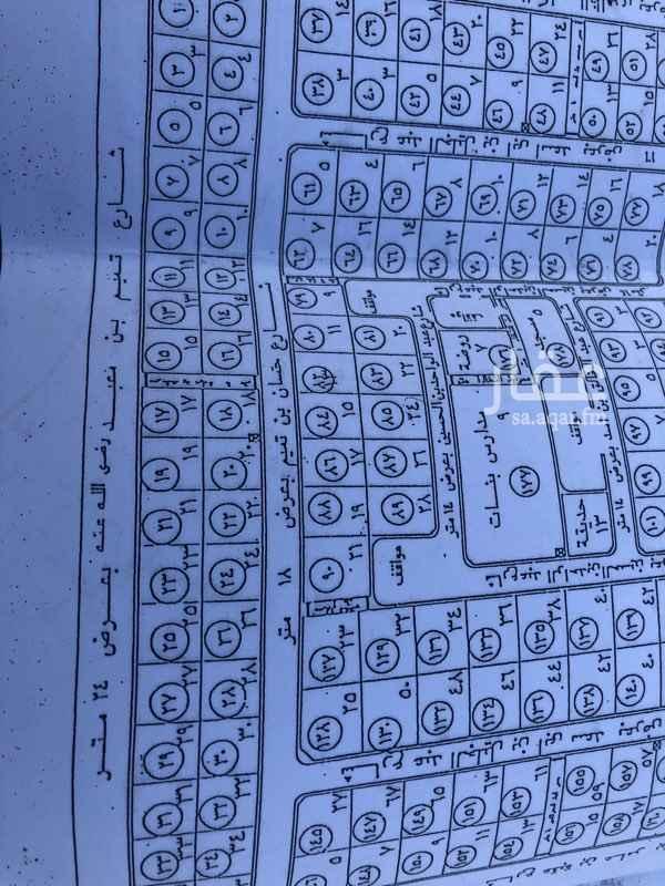 1622129 للبيع ارض سكنية في مخطط جوهرة السلام  المساحة    ٦١٢.٥ م٢ طول الضلع علي الشارع    ٢٤.٥ م٢ الارض مستوية وخلفية شارع ٢٤ م   (((( السعي في الذمة )))  ملاحظة : الموقع في التطبيق غير دقيق للوقوف علي الارض التواصل عن طريق الجوال  ٠٥٠٦٠٢٤٨٨٨