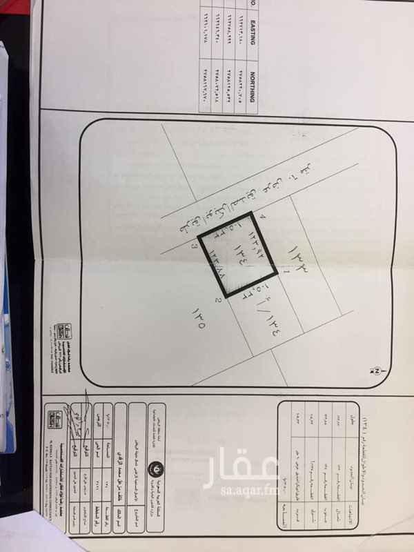1760542 💯 للبيع 💯  قطعة ارض تجاريه مخطط رقم 3496 الواقعه في حي النرجس على شارع ابو بكر الصديق عرض 60 م طول 105.33  واجمالي المساحة (13050 م)    سوم 750 للمتر