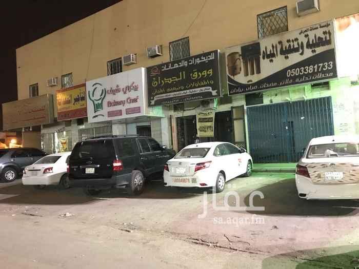 670866 للايجار محل علي شارع طيبه حي لبن المعرض 30 متر