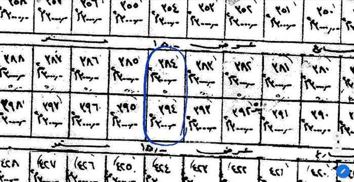 1582909 أرضين بصك واحد للبيع بواحة العمارية بمساحة اجمالية ٦٠٠٠ متر جنوبية وشمالية شوارع ١٥ أطوالها ٥٠ متر على الشارع في عمق ١٢٠ متر أرقام القطع ٣٨٤ و ٣٩٤ من مخطط رقم ٦١ (واحة العمارية)  السوم ٩٠٠ الف لكامل القطعتين ،،، والله الموفق
