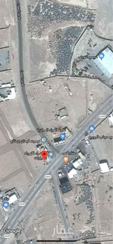 1281743 ارض تحارية / سكنية موقع ام الدوم على الشارع العام بالقرب من مستشفى ام الدوم للاستثمار بمقابل ((20000)) سنويا