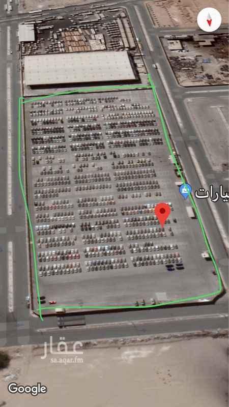 1090224 أرض إيواء سيارات و حاويات مزفلته مسورة مخططة بالكامل مجهزة بأدوات السلامة ومكافحة الحريق ، كمرات مراقبة ، حراسة أمنية على مدار الساعة  .