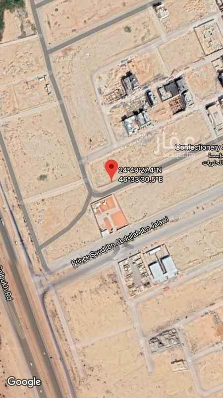 1550622 للبيع العاجل   ارض بحي جوهرة القيروان جنوبية اطوالها   ١٣.٢٧ * ٣٠  شمال سعود بن جلوي                    مجموعة المغامس العقارية