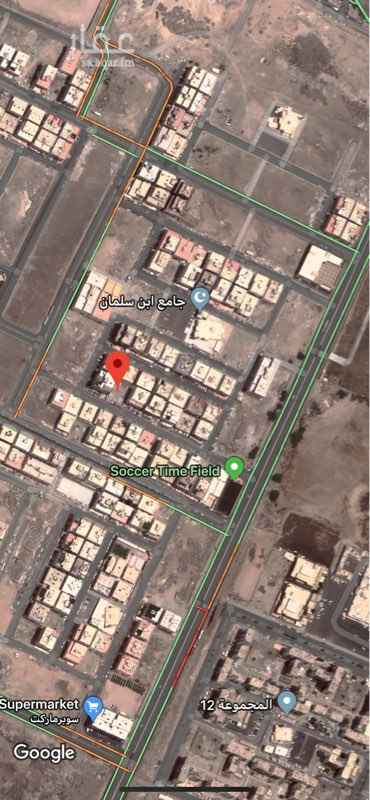 1759379 ارض للبيع منطقة عمائر 6 ادوار  الابعاد : 28 * 30  شارع نافذ