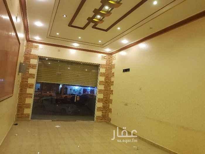 1589502 محل تجاري رقم ١ على شارع٣٥  3.70×7.40 امام الدفاع المدني _ جوار جامع الحمد