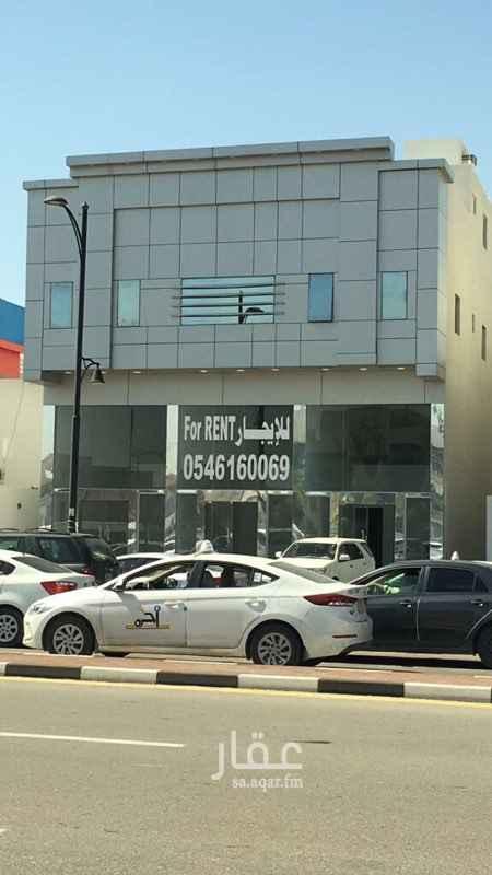 1381134 معرض تجاري مقابل الاتصالات السعودية بجانب مطعم هرفي  موقع مميز مقابل كلية البنات ومدرسة شرق لتعليم القيادة النسائية