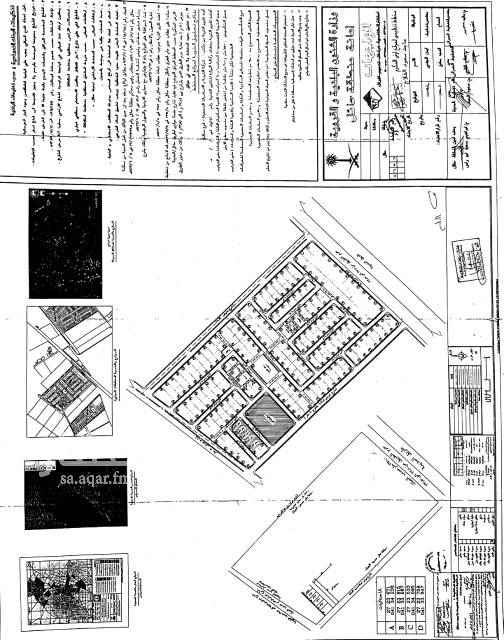 1751237 الاستراحه على اربع شوارع ثلاث صكوك والتفاصيل موجوده اسفل المخطط الموضح