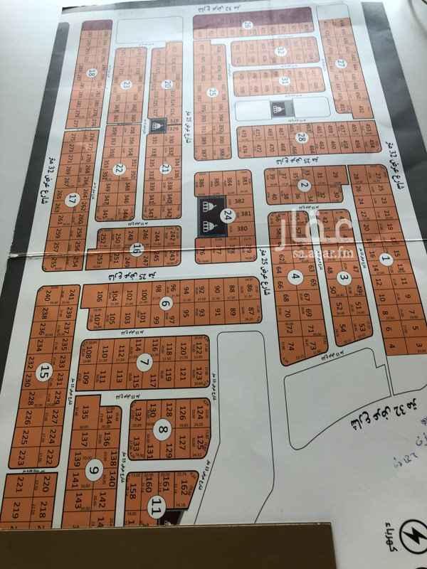 1699125 مخطط الصفوة  حى الشراع  مساحة ١١٠٠متر شارع ٢٥ المطلوب  ١٨٥٠ريال للمتر صكوك جاهزة  افراغ فورى