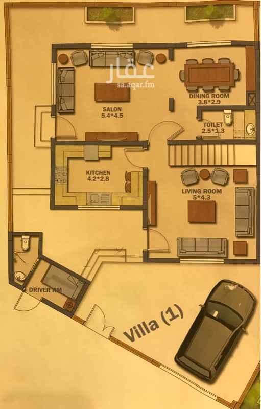 1816439 Villa Ground level =kitchen+living room+salon+Dining room+toilet+car barking+driver room First level=4bed room +3toilet Roof level=2bed room +laundry +terrace