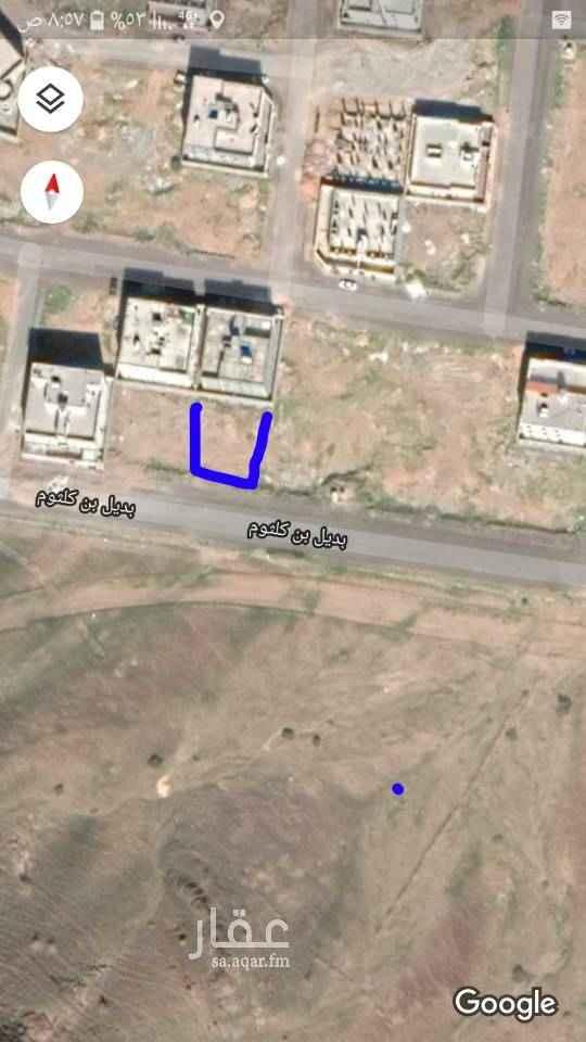 1686572 للبيع قطعه ارض رقم ٤٠في مخطط رقم ٧٤٨ت١٤١٦ الواقع في حي السلام في المدينه المنوره على شارع ١٨ مساحتها٦٢٤متر  ب ٦٥٠ الف