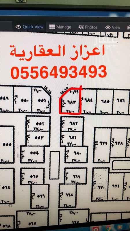1480264 للايجار ارض على طريق نجم   مسورة ويوجد بها غرفتين    مع تحيات  اعزاز العقارية