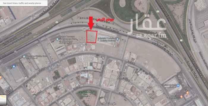 1322355 ارض تجارية في حي الفيصلية على زاوية طريق الملك فهد تقاطع طريق الجبيل السريع للاستثمار طويل الاجل او البيع