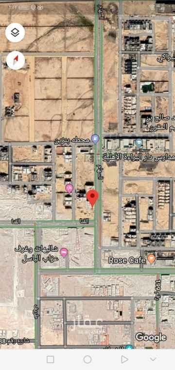 1808443 للبيع قطعة ارض تجارية  بحي النرجس  الكيلو الثالث الغربي  مساحه ٧٠٠متر  الاطوال ٢٠×٣٥ الواجهه ٣٦شرقي البيع٢٥٧٢للمتر غير الضريبة