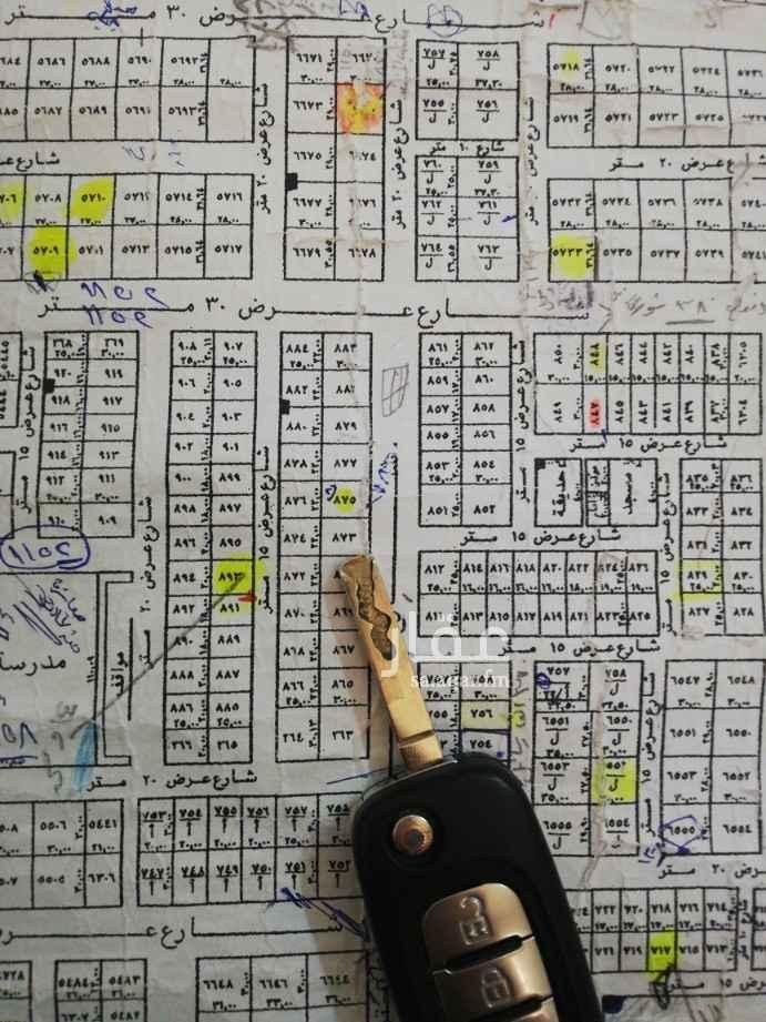 1808459 ارض للبيع تجاري مساحة 660م في حي الأمانة غرب الملك الملك عبدالعزيز واجهة شرقية شارع 30م الاطوال 22*30 رقم القطعه 873 عليها 2000 غير الضريبة والسعي