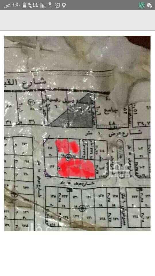 1657307 أرض للبيع في المونسية سكنيه   شارع ٢٠ شمالي حي فنجال