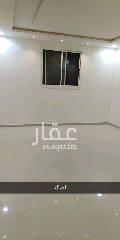 1373813 شقة بالدور الثالث صالة، ثلاث غرف، حمامين، سطح.لايوجد مكان لمكيفات الشباك