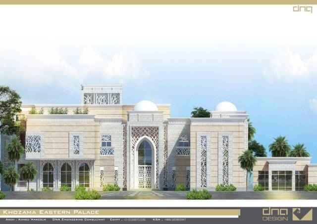 1690067 القصر جديد في مرحلة التشطيب النهائي فخم جدا ويتمتع باطلاله جميله على مطل جميل . السعر تقريبي