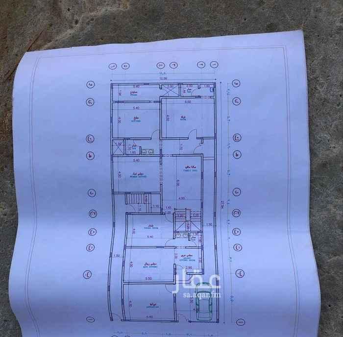 1629676 فلة تحت الانشاء مكونة من درج داخلي وشقتين  في حي القادسية العواد  عليها جميع الضمانات