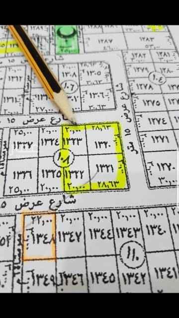 1748238 للبيع راس بلوك شرقى بالجوهره  المساحه  ٢٨٩٨م الاطوال ٦٠×٥٨.٣ شارع ٢٥  شرقى  شارع ١٥ شمالى  شارع ١٥ جنوبى  السوم ٢٣٠٠ ريال