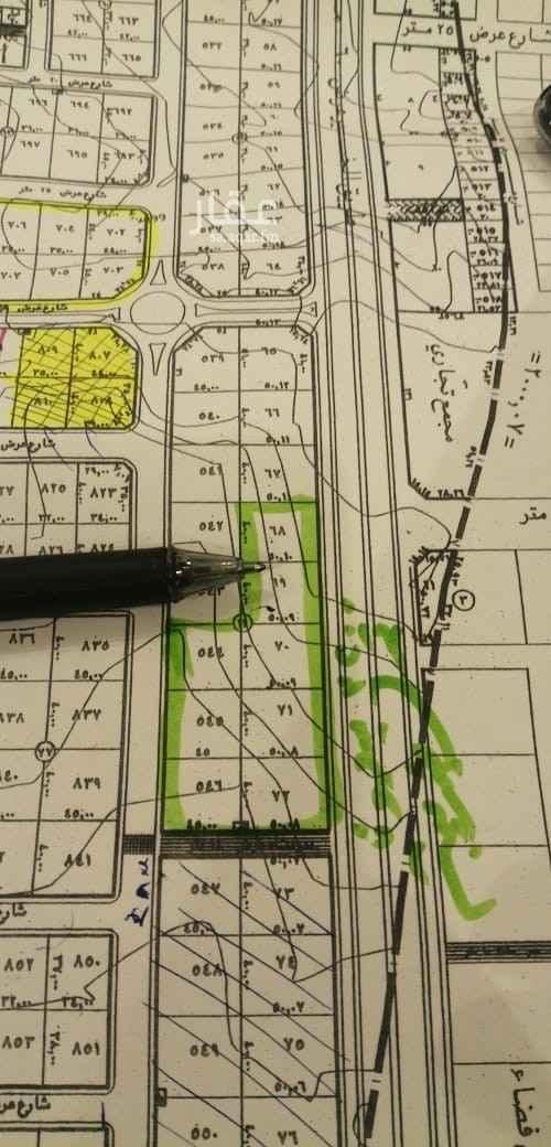 1817196 للبيع قطعه ارض ف حي العجلان  ع طريق الخير   المساحه ٢٠٠٠م الأطول ٤٠×٥٠ شارع ٦٠ شرقي   بيع ٣٢٠٠ ريال