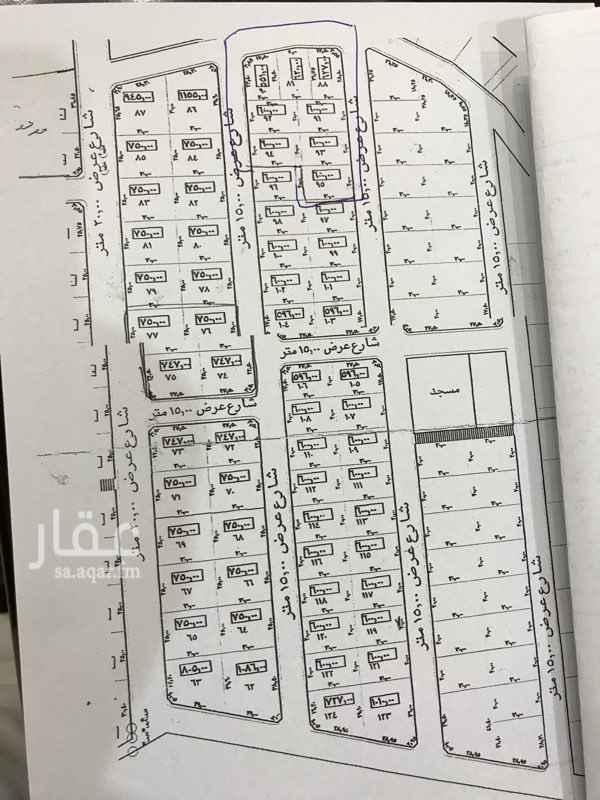1713892 للبيع ارض سكنيه مساحتها ٦٠٠م ابهاطريق الطايف شعار منطقه ممتازه جدا للسكن والاستثمار