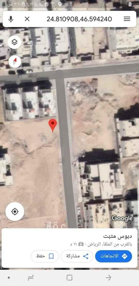 """1468372 24°52'16.8""""N 46°37'10.5""""E Unnamed Road, الرياض 13342 https://goo.gl/maps/rZ1YXCLNu9s     للبيع قطعتين  المساحة ٩٦٠ م   مجزء قطعتين   مساحة كل قطعة ٤٨٠م   شارع ٢٠ شرقي  ١٦ *٣٠ المساحة ٤٨٠م٢ السوم ١٦٠٠  البيع ع شور ١٦٥٠"""